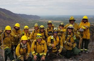 En la semana que conmemora al bombero forestal