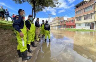 ¿Qué emergencias se presentan con las lluvias en Bogotá? y ¿Cuál es el actuar de los Bomberos?