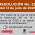 Resolución 559 de 2020