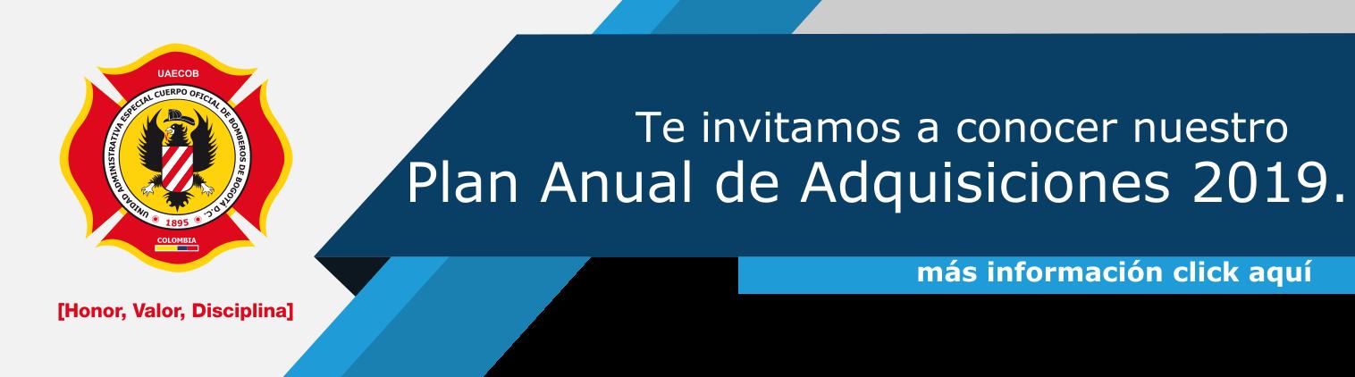 Plan Anual de Adquisiciones 2019
