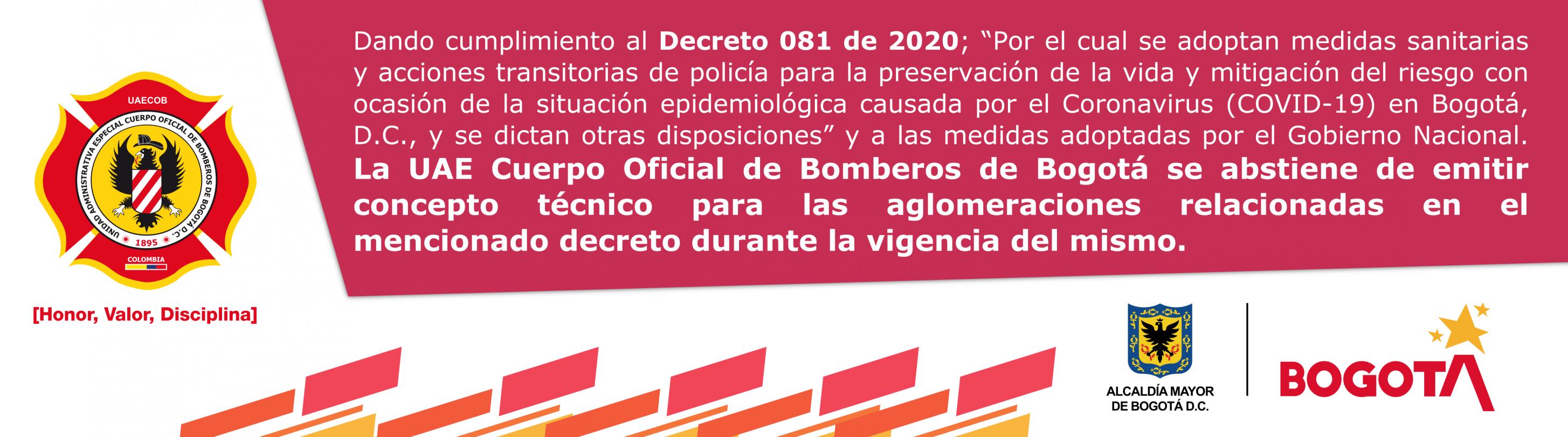 Decreto 081 de 2020