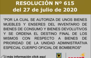 RESOLUCION 615 DE 2020