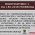 Modificatorio 1 - CTO 150 - 2018
