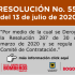 Resolución 559 de 2020