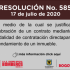 Resolución 585 de 2020