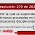 Resolución 270 de 2020